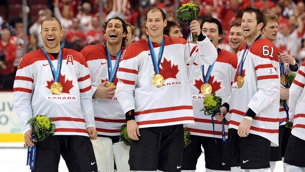 Canada will defend its men's hockey gold in the Sochi, Russia 2014 Olympic Games.