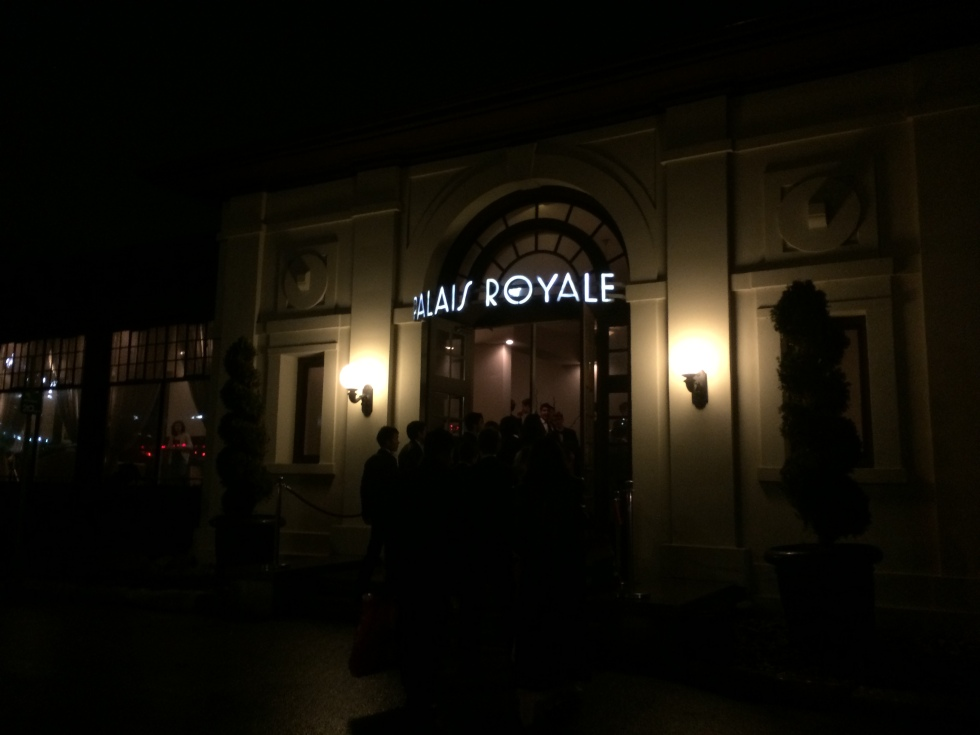 A Royale with Palace.