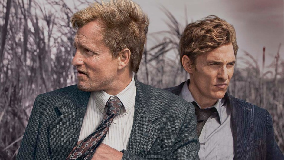 Woody Harrelson and Matthew McConaughey look great in the wind.