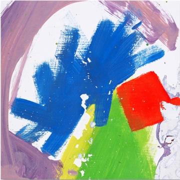 Album cover, not child's fingerpainting