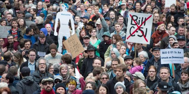 Bill C51 Protest 20150314
