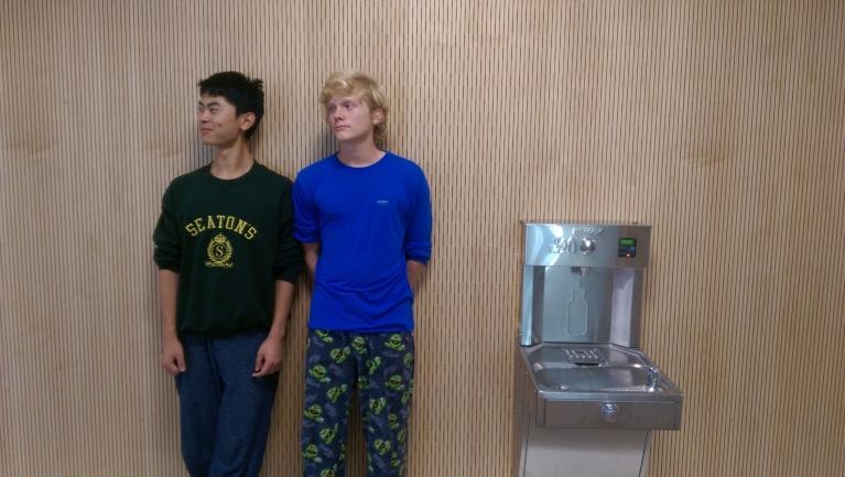 Yizhou Yu & Clayton Jeffrey - Pajama Day