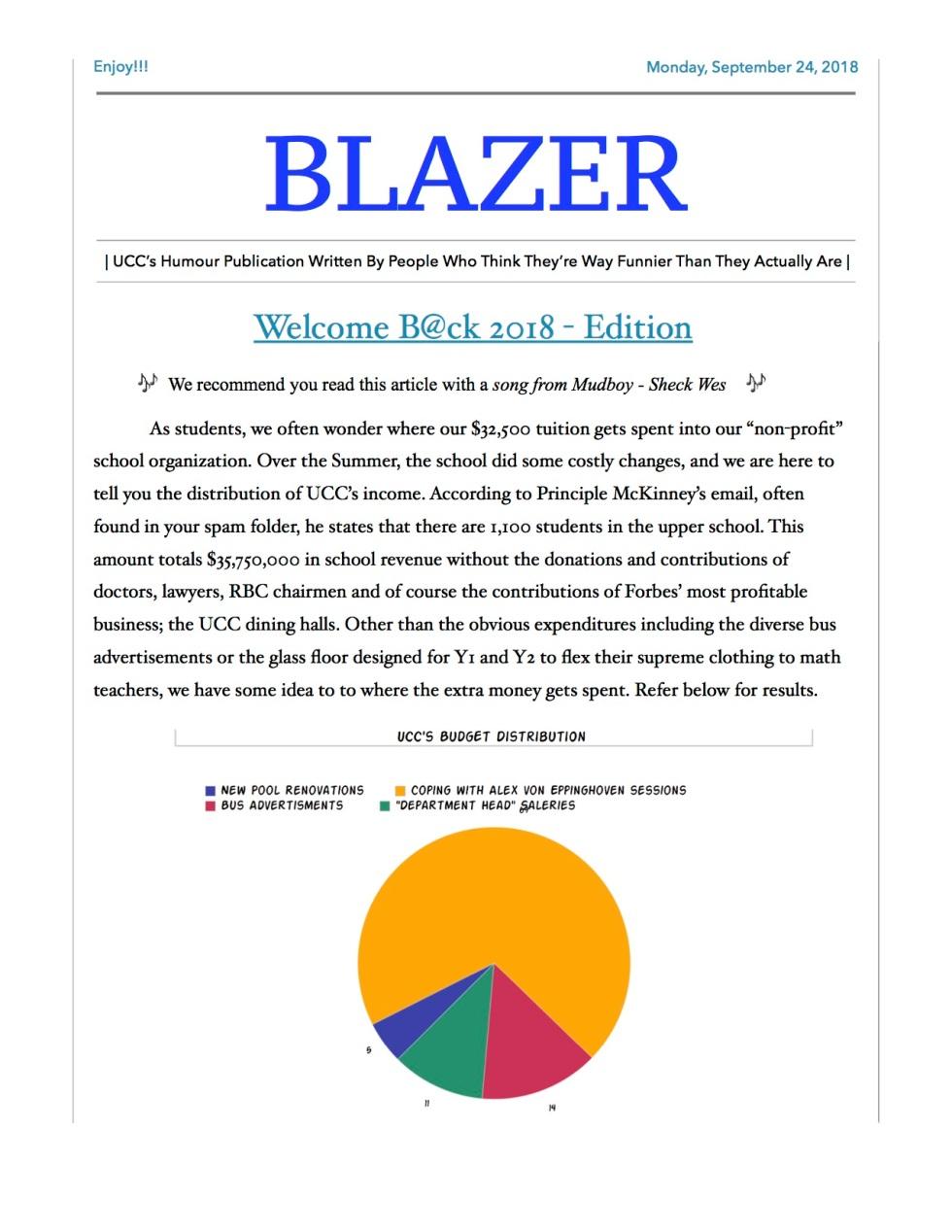 Blazer - Sept:Oct